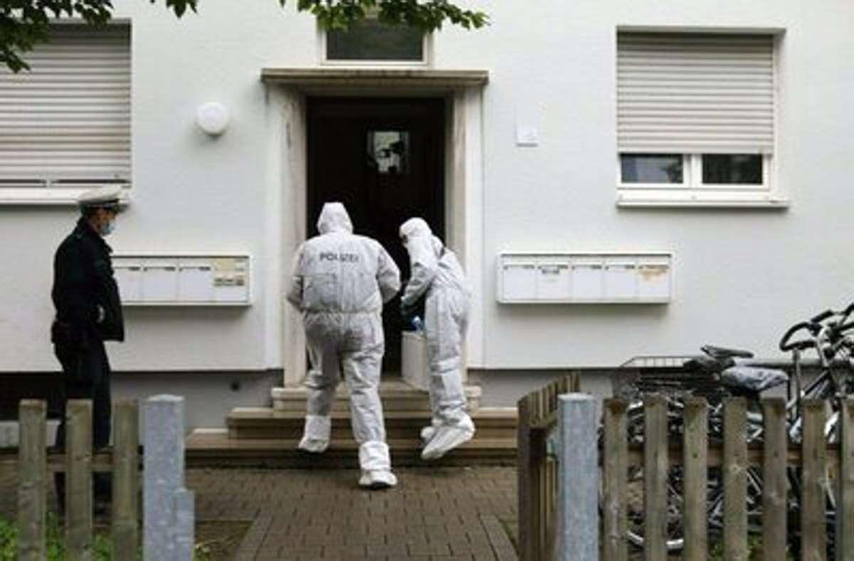 Die Spurensicherung war am Mittwoch vor Ort. Foto: dpa/Ralf Zwiebler