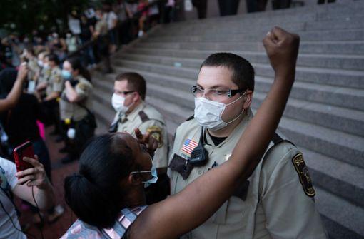 Ausnahmezustand in Atlanta nach Gewalt bei Protesten