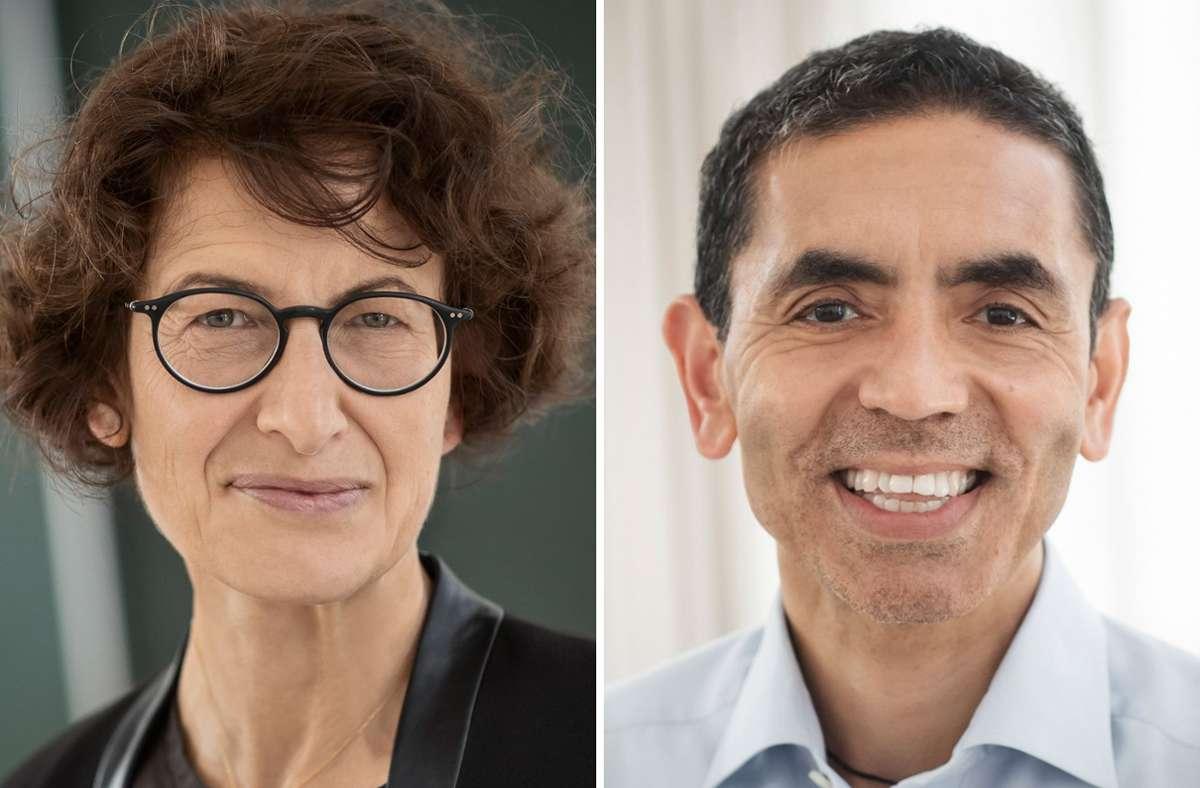 Özlem Türeci und ihr Ehemann  Ugur Sahin, die Biontech gegründet und den ersten Corona-Impfstoff entwickelt haben, sind das neue Paradebeispiel für wirtschaftlichen Erfolg durch Vielfalt. Foto: dpa/Biontech
