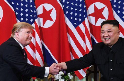 Donald Trump und Kim Jong Un ringen um Frieden und Abrüstung