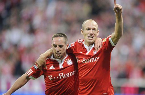 Abschied von Arjen Robben und Franck Ribéry