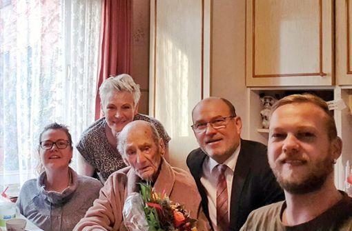 Mit 114 ist er der wohl älteste Deutsche