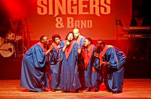 The Original USA Gospel Singers & Band.