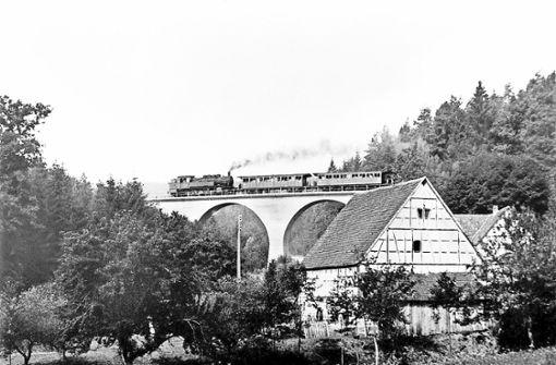 Eisenbahnromantik im Siebenmühlental