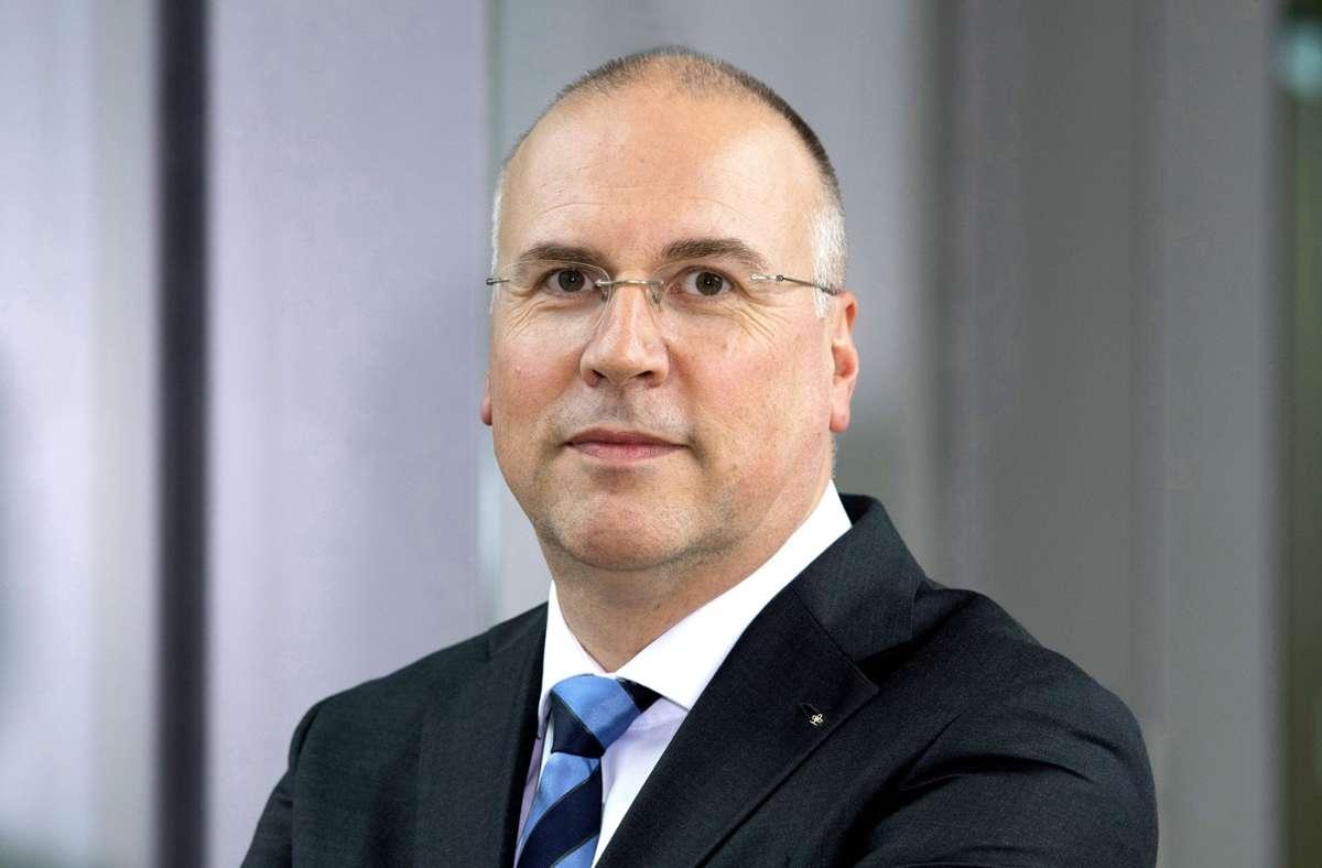 Johannes Bauernfeind, Vorstandsvorsitzender der AOK Baden-Württemberg Foto: /THOMAS KIENZLE