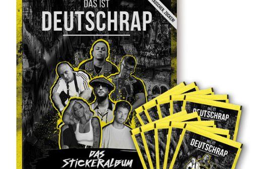 Das erste Deutschrap-Stickeralbum kommt auf den Markt