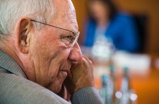Schäuble tritt zur Wahl 2017 an
