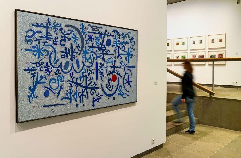 Die erste Einzelausstellung in Deutschland seit mehr als 20 Jahren huldigt dem vielschichtigen Künstler   Otto Nebel. Foto: factum/Jürgen Bach