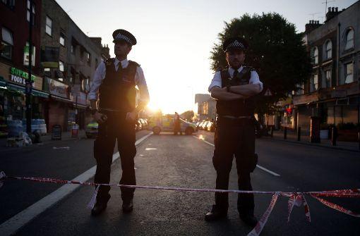 Vorfall in London. Foto: AFP