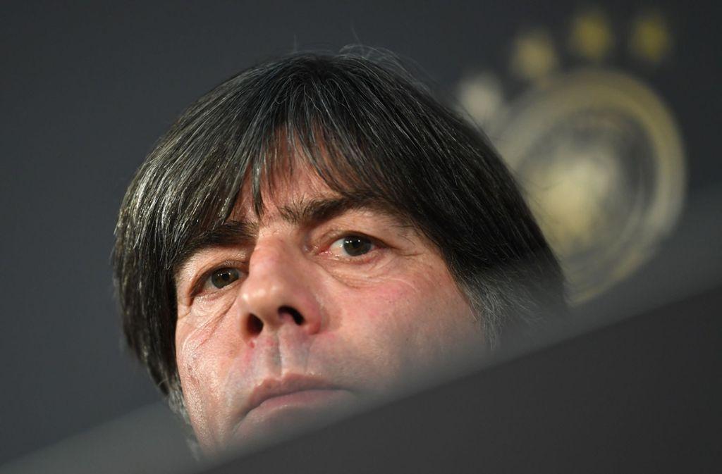 Joachim Löw will wieder die Kontrolle gewinnen. Foto: dpa