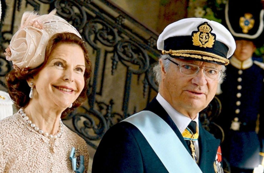 Das Königspaar Carl XVI. Gustaf und Silvia will sich nicht mehr alles bieten lassen. Foto: dpa