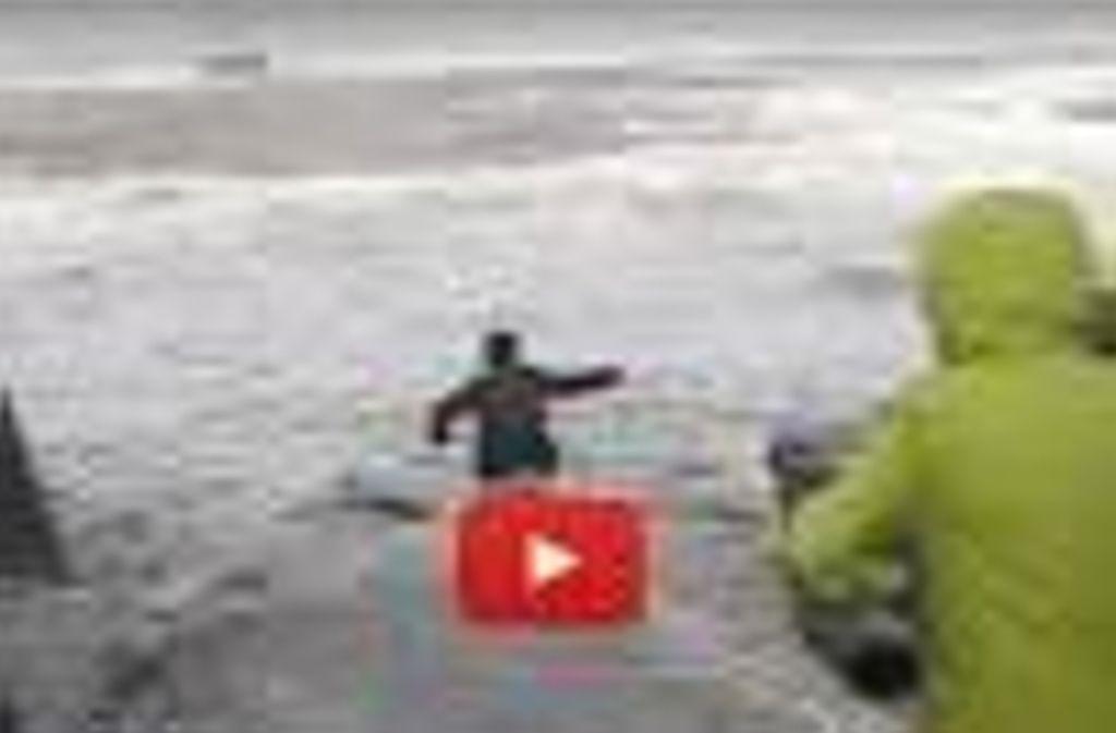 Auf Youtube ist die Rettungsaktion zu sehen. Foto: Youtube