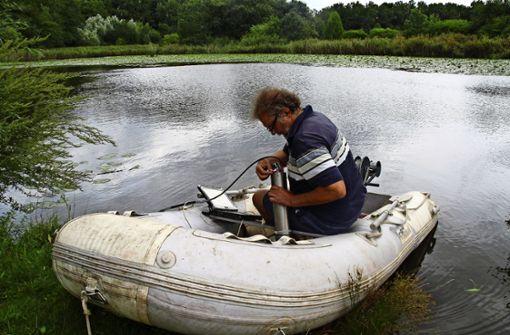 Der Teich soll nicht verlanden