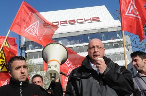10.000 Metaller im Warnstreik
