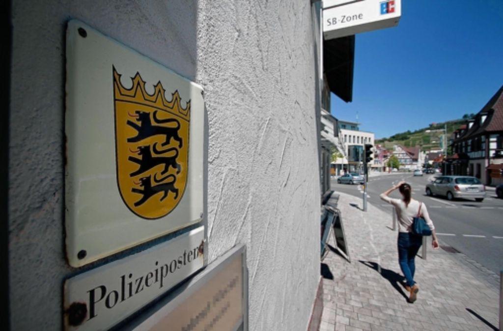 Ende 2012 läuft der Mietvertrag für den Polizeiposten in Asperg aus. Foto: factum/Granville