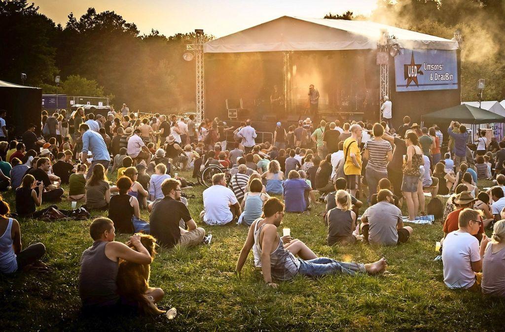 Immer lauschig, immer gut zum Lauschen: Das U&D-Festival Foto: Lichtgut/Achim Zweygarth