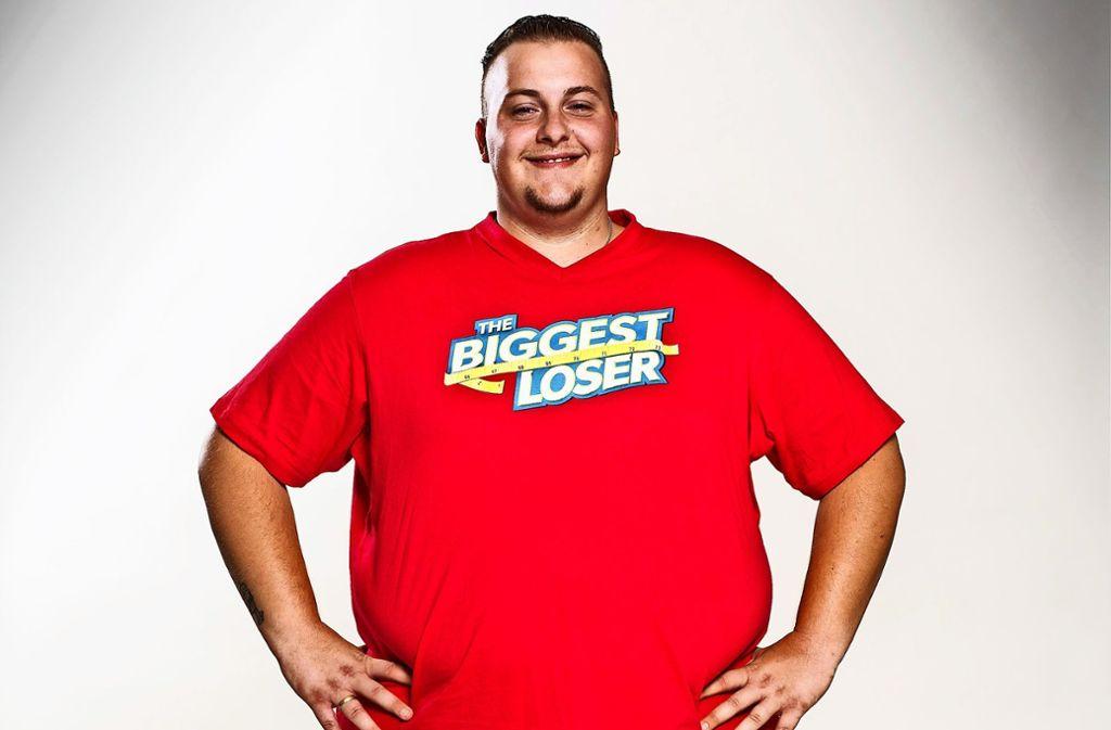Fabian Pötzsch startete mit 170,8 Kilo in die Show. Bilder aus der TV-Sendung finden Sie in unserer Bildergalerie. Foto: Sat 1/Martin Rottenkolber