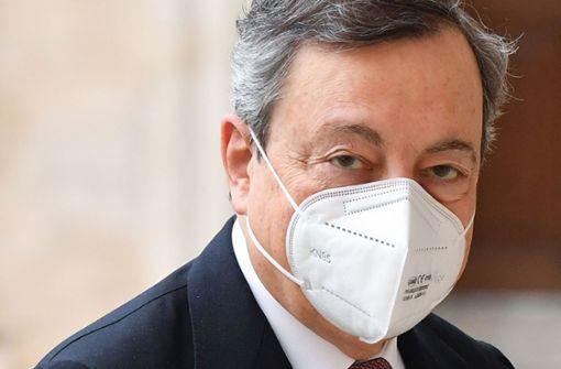 Mario Draghi als neuer Premier vereidigt
