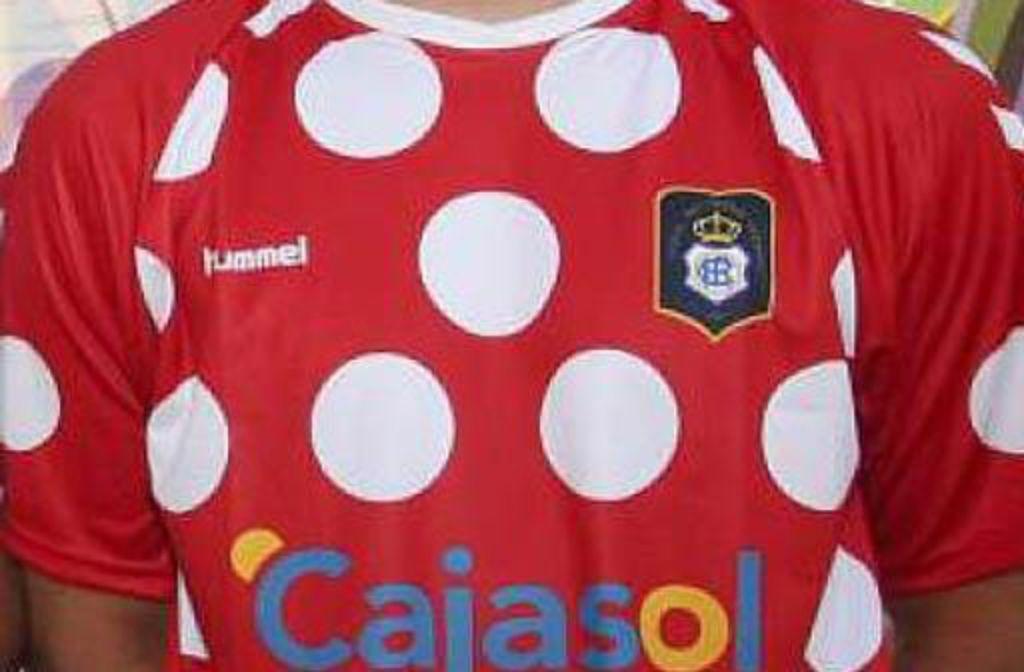Dieses Polka-dot-Trikot treibt Huelvas Fans auf die Barrikaden. Foto: hummels