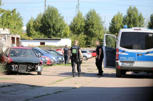 Polizei fahndet nach Messerstecher in Erfurt