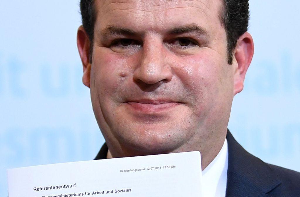Hubertus Heil ist der Arbeitsminister der großen Koalition. Foto: dpa