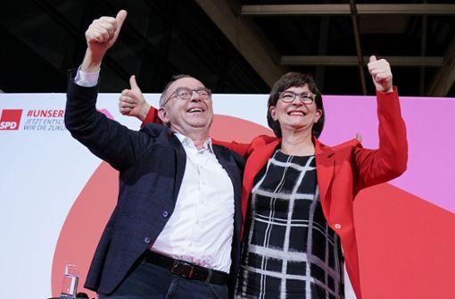 Newsblog – Esken und Walter-Borjans neue SPD-Vorsitzende