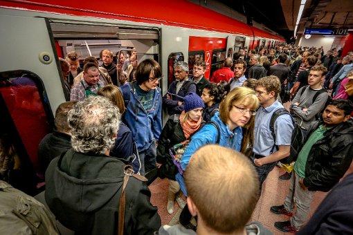 Bahn warnt vor S-Bahn-Chaos am Samstag