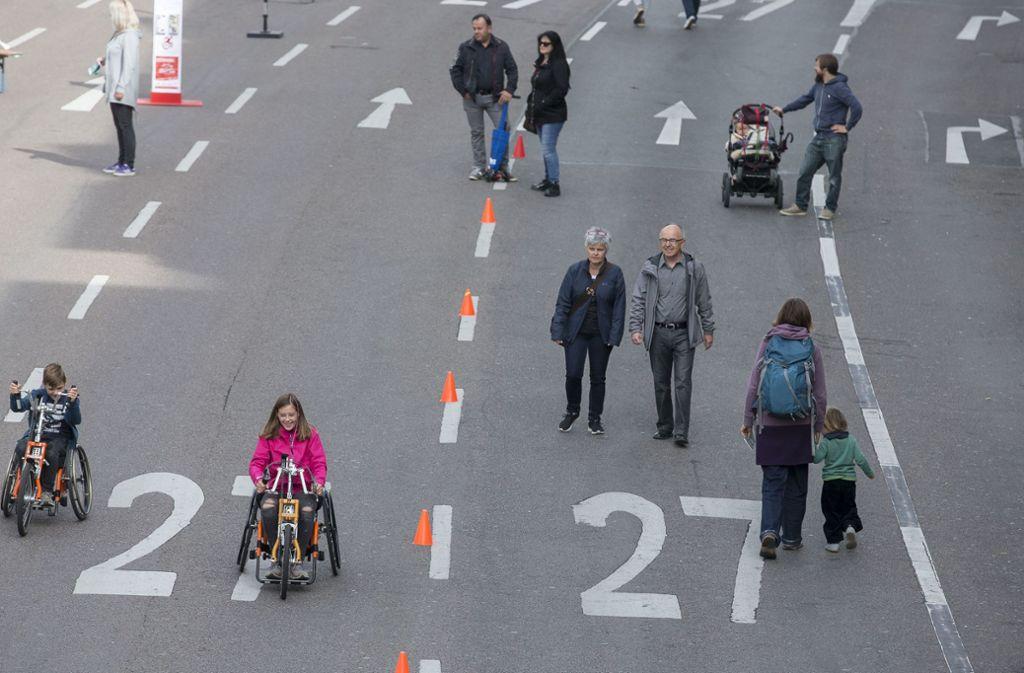 Laut Umfragen wünschen sich viele Stuttgarter Bürger weniger Autoverkehr in der City. Foto: LICHTGUT/Leif Piechowski