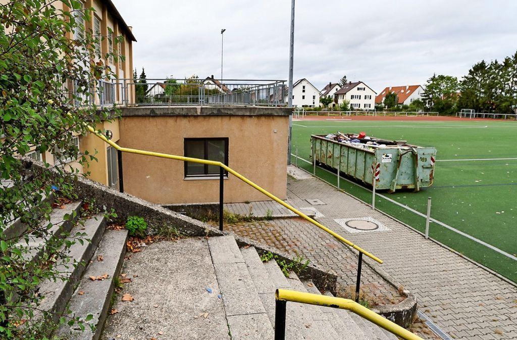 Auf dem Gelände an der Jahnstraße sollen Mehrfamilienhäuser entstehen, zudem ein Bau mit Gewerbeflächen im Erdgeschoss. Foto: factum/Jürgen Bach