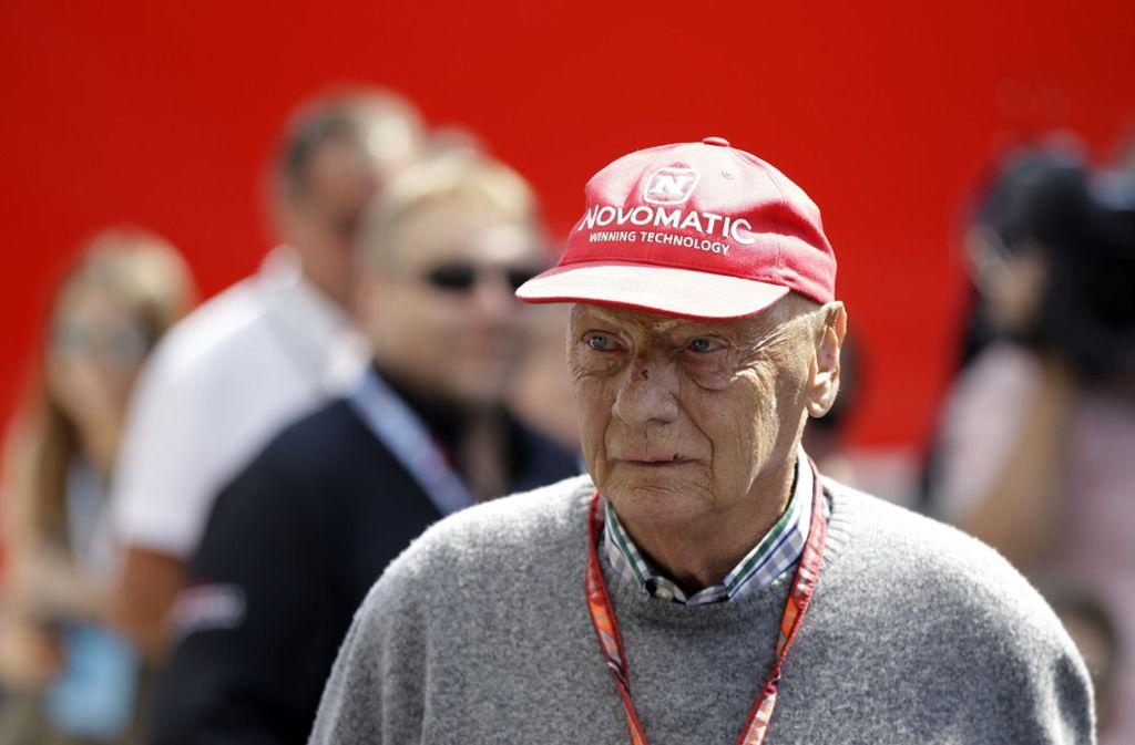 Niki Lauda musste sich einer Lungentransplantation unterziehen. Foto: AP