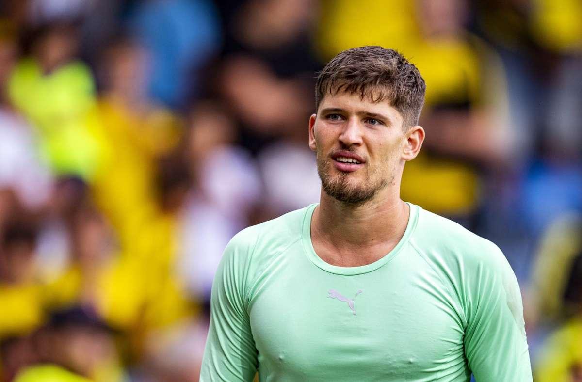 Gregor Kobel ist die neue Nummer eins beim BVB. Foto: dpa/David Inderlied