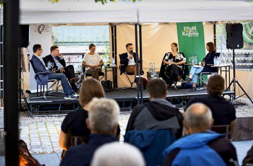 Bundestagskandidaten diskutieren in Stuttgart über Rassismus, Flucht und Migration