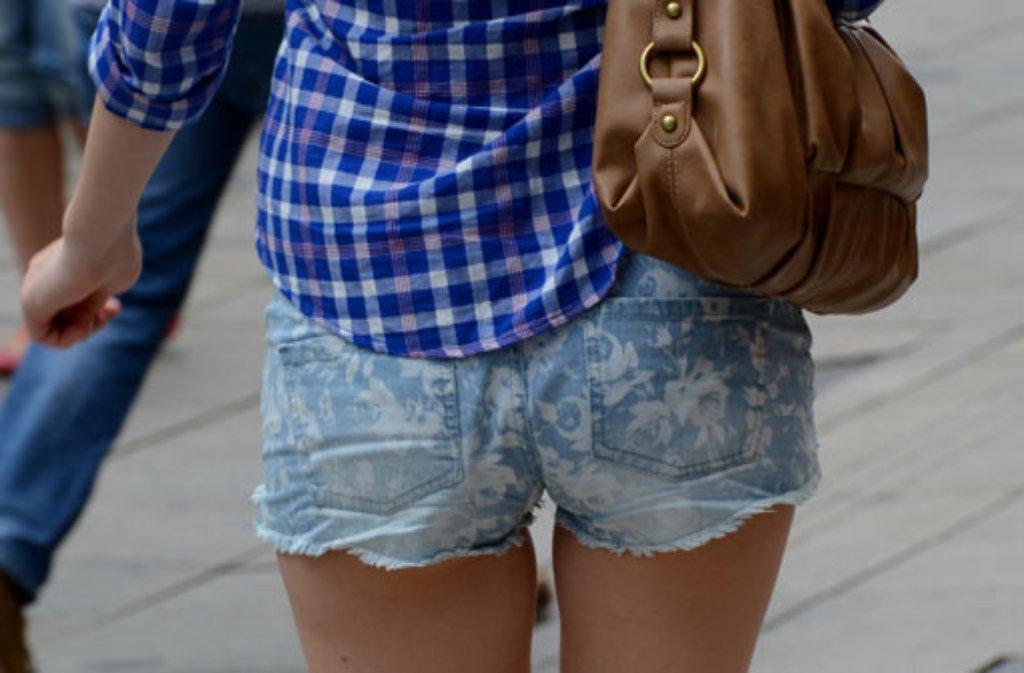 In Hotpants in die Schule - geht das? Foto: dpa