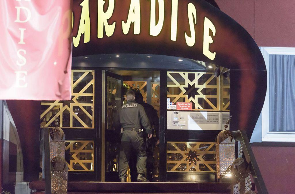 Im November 2014 hat eine Razzia in dem Bordell Paradise stattgefunden. Foto: 7aktuell.de/Eyb