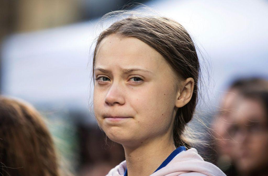 Die Engpässe der Deutschen Bahn hat Greta Thunberg am eigenen Leib erfahren. Foto: dpa/Melissa Renwick