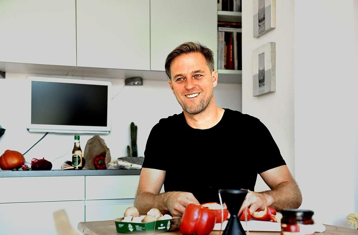 Timo Hildebrand setzt auf vegane Küche. Foto: Lichtgut/Max Kovalenko