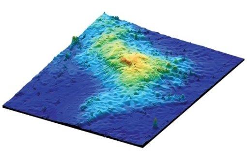 Supervulkan im Meer versteckt