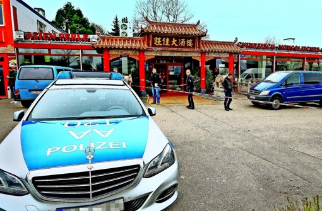 Der Fund einer Frauenleiche in einem Asia-Restaurant in Backnang beschäftigt derzeit die Polizei. Foto: 7aktuell.de/Schmalz