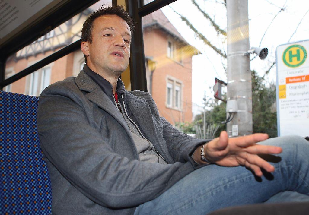 Erholungsfahrt in der Zacke: Bobic hat die Entlassung beim VfB gut verarbeitet. Foto: Pressefoto Baumann
