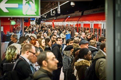 Baustellenlinie fährt S-Bahn-Bilanz in Keller