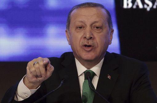 Erdogan verschärft Gangart gegen Kritiker