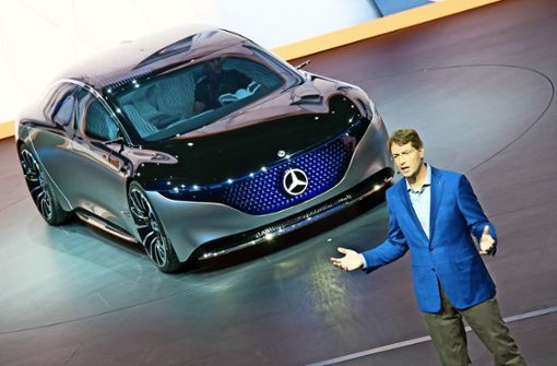 Daimler versucht sich an der E-Limousine