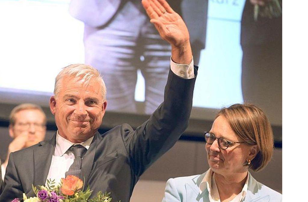 Auf dem Parteitag im Mai noch Seit' an Seit', jetzt im Clinch über den richtigen Umgang mit gut integrierten Flüchtlingen: Thomas Strobl und Annette Widmann-Mauz Foto: dpa/Karl-Josef Hildenbrand