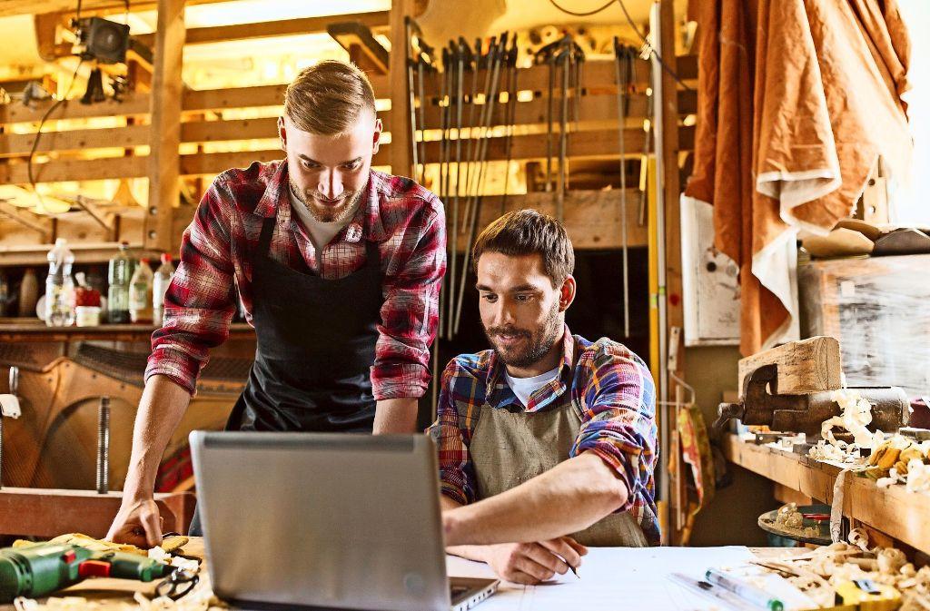 Auch kleine Betriebe profitieren von der Digitalisierung. Foto: