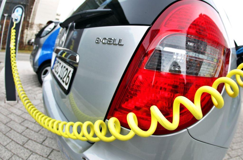 Zukünftig wird es eine Kaufprämie für Elektroautos geben. Foto: dpa