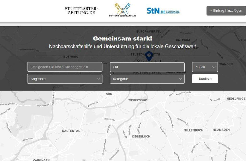 Gerade  in einer Krisensituation ist Stuttgart gemeinsam stark. Foto: Screenshot