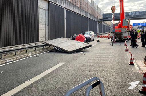 """Betonplatten-Unfall: Fehlkonstruktion laut Behörde """"mit Absicht"""""""