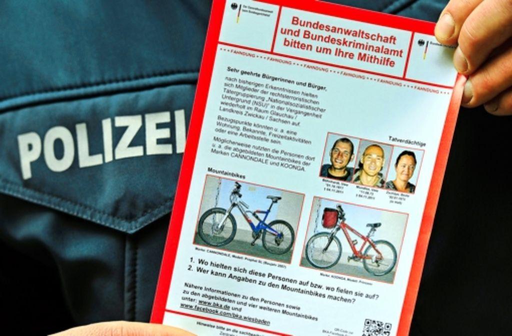 Es gibt viele Ungereimtheiten bei den Ermittlungen gegen das Zwickauer Terror-Trio. Foto: dpa