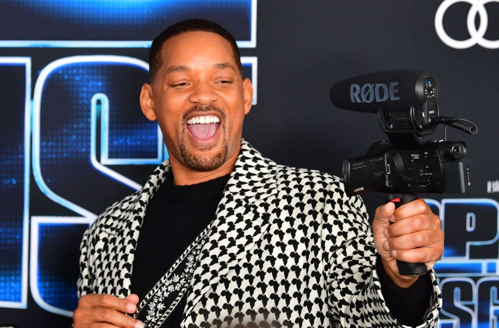Will Smith spielt eine der Hauptrollen in Spies in Disguise. Foto: AFP/FREDERIC J. BROWN