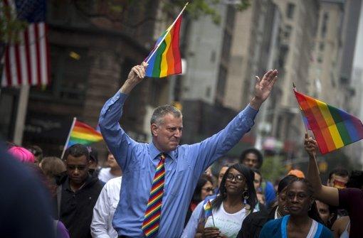 Amerika feiert das Eherecht für alle